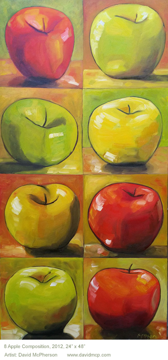 8 Apple Composition