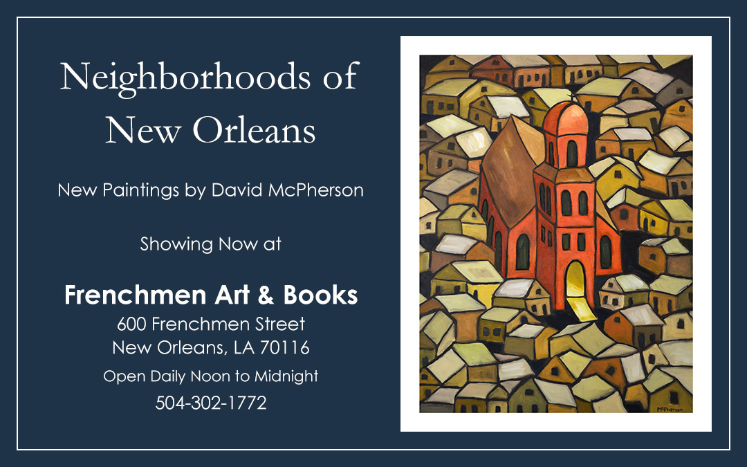 New Work at Frenchmen Art & Books