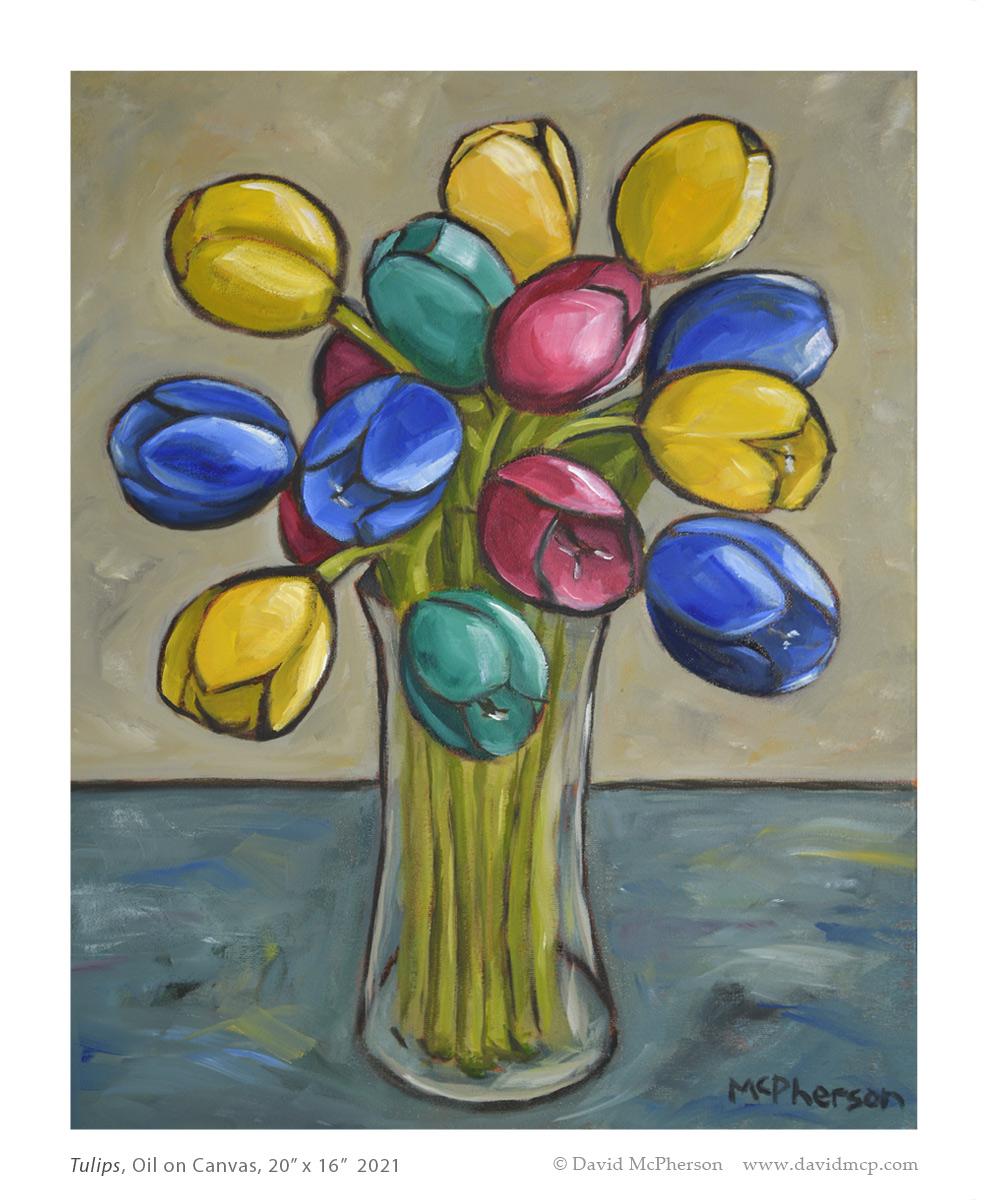 Composition 14, Oil on Canvas, 30 x 24, 2020