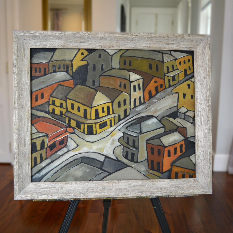 Composition 11, Oil on Canvas, 64 x 50, 2020